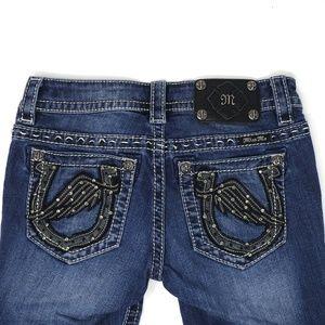 Miss Me | Signature Capri cropped jeans, size 25